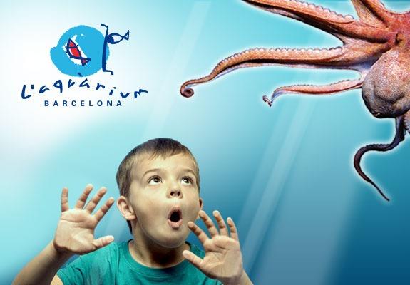 Banner Aquarium de Barcelona