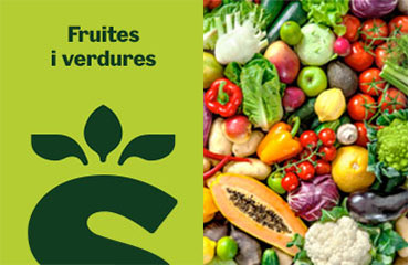 productes de fruita i verdures